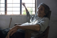 Homai Vyarawalla in Vadodara, 2007.